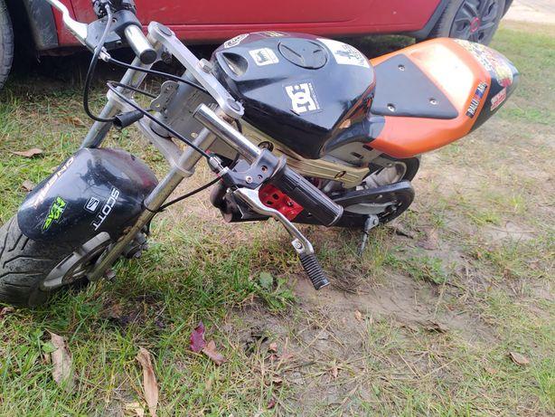 Mini ścigacz pocket bike motor dla dziecka NOWY SILNIK