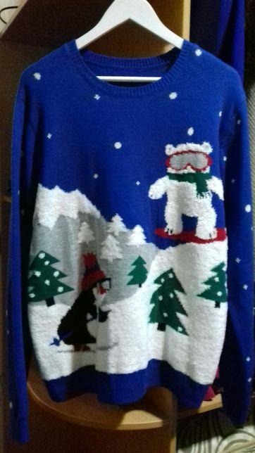 Новогодний новорічний свитер для фотосесий