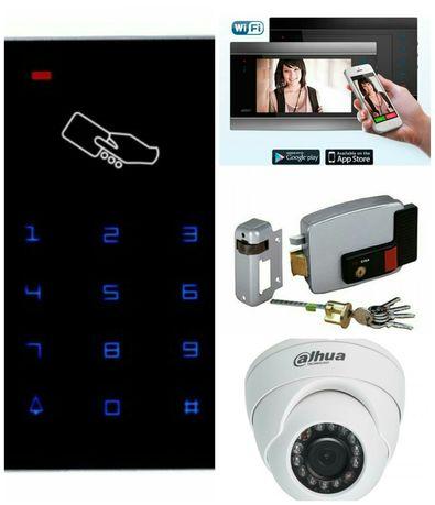 Установка охранно-пожарной сигнализации, видеонаблюдения, домофонов.