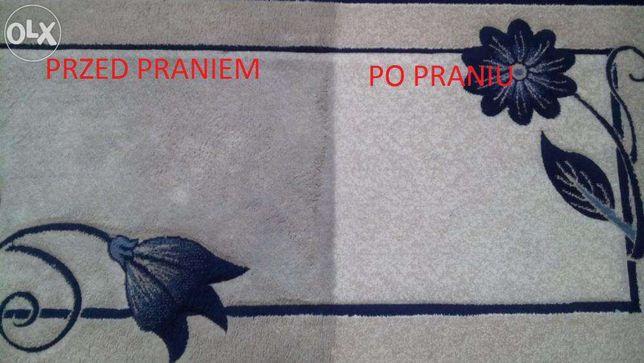Pranie - Czyszczenie skór dywanów tapicerki meblowej i samochodowej !
