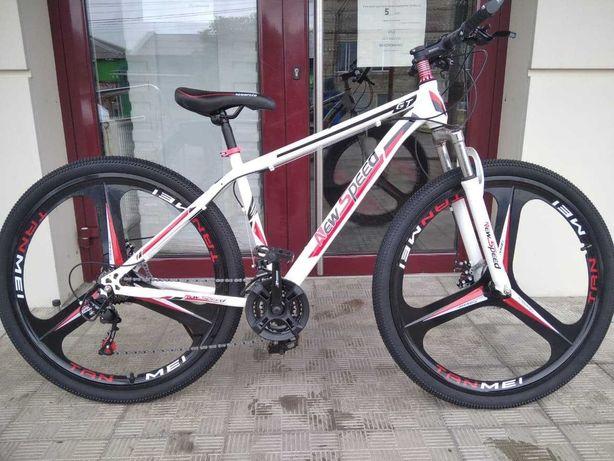 """Горный велосипед New Speed 29"""" колёса; 21 скорость"""