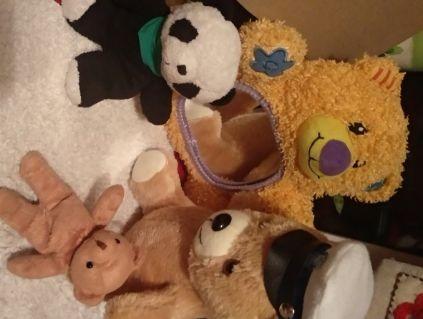игрушка мишка медведь шарики впопе полиция панда фирменные 4разные