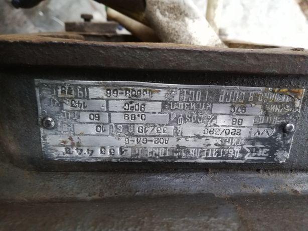 Продам Электро двигатель 10кВт 970об/мин