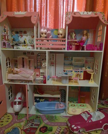 Домик дом для кукол Барби