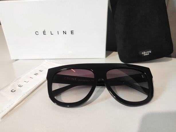Czarne okulary CELINE CL 41026/S