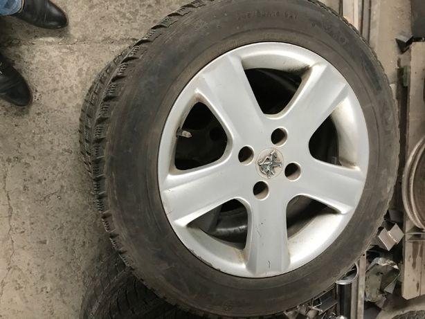 Диски + колеса Peugeot