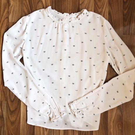 New Reserved белая рубашка Блуза блузка