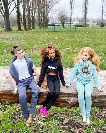 Одежда для кукол Barbie, Барби пышки, Кена, petit петит