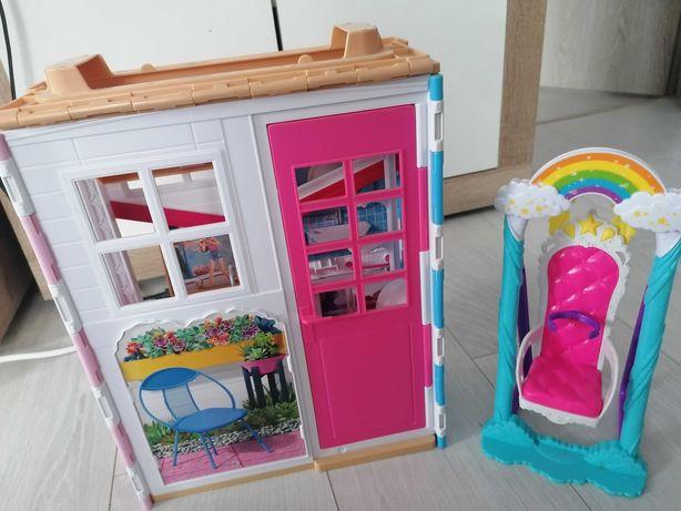Domek dla lalek Barbie+huśtawka