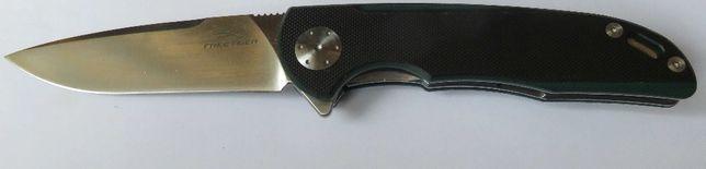nóż składany folder Tiger stal D2 łożyska fliper