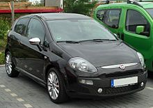 Fiat Punto Evo автошрот