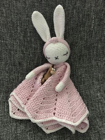 Naninha de bebé em crochet / amigurumi