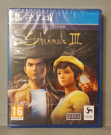 PlayStation 4! Shenmue III - Day One Edition! PS4 - Polecam