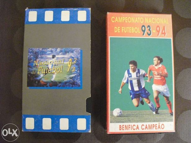Resumos do campeonato nacional de 92/93 e 93/94 (vhs)