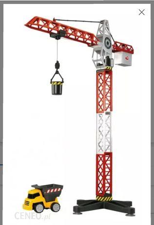 Żuraw budowlany na baterie zabawka