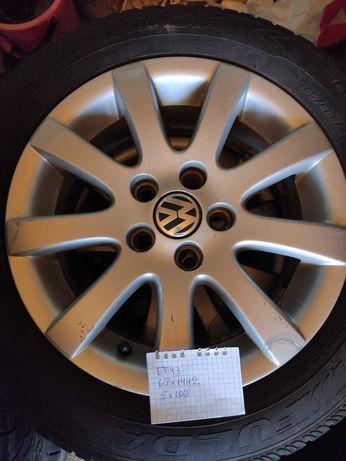 Легкосплавные / литые диски RONAL R14 5*100 на Volkswagen, Skoda