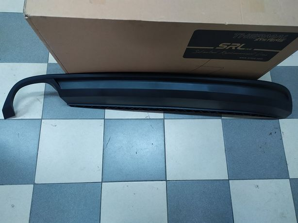 Спойлер губа заднего бампера VW Passat B7 USA 11-14 г.в.