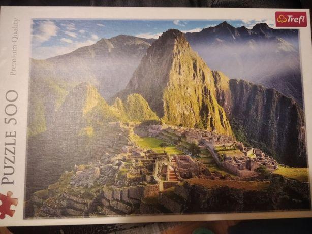 Puzzle 500 Machu Picchu kompletne