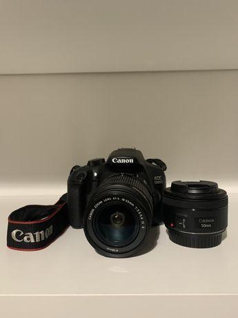 Canon 1300D mais lentes