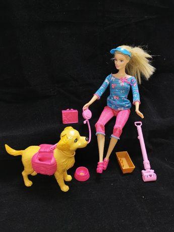 Игровой набор Барби Barbie выгуливает собачку (Mattel)