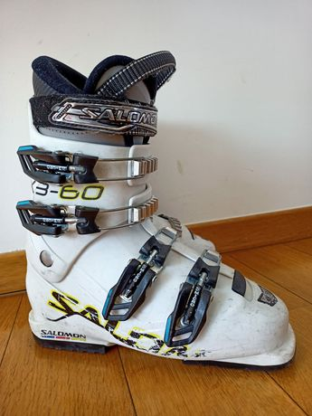 Buty narciarskie Salomon r. 24-24,5 skorupa 287mm