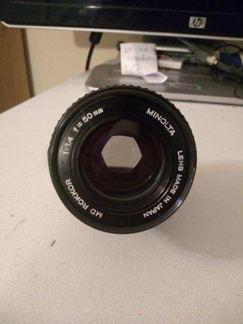 Obiektyw Minolta MD Rokkor 50mm f1.4
