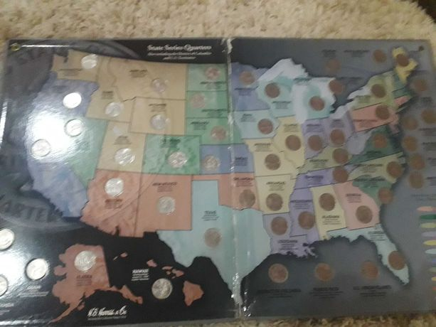 Продам колекцию монет Америки