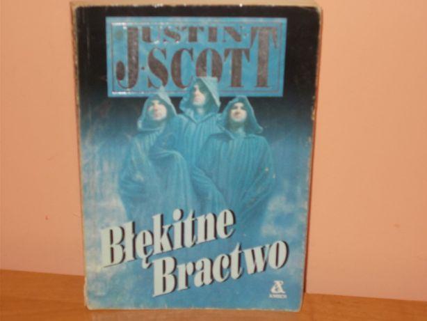 Błękitne Bractwo Justin Scott