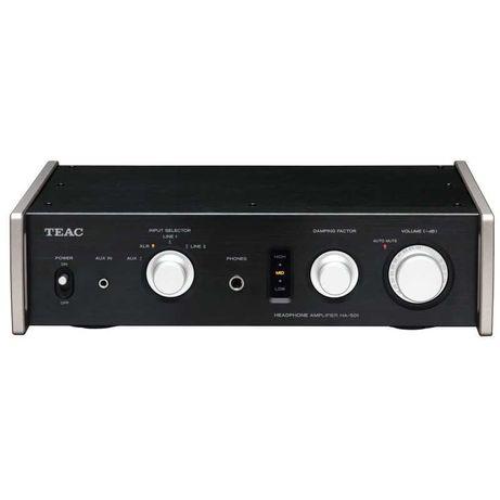 TEAC HA-501(czarny)Wzmacniacz słuchawkowy typu Dual Mono