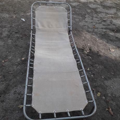 łóżko polowe, wojskowe - składane