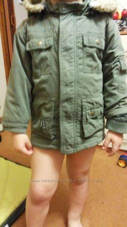 Куртка-парка для мальчика размер 1,5-2 года и 3-4 года