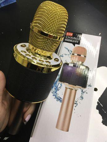 Караоке микрофон портативный Bluetooth