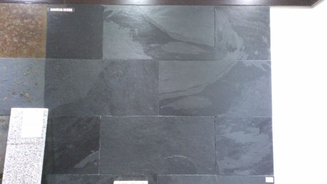Ardósia Negra para paredes