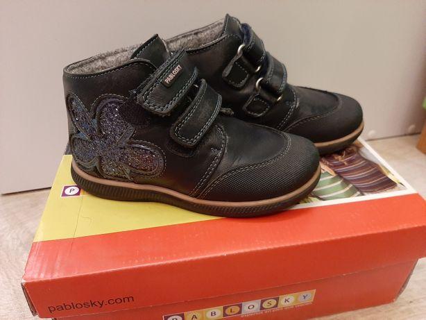 Ботинки кожаные Pablosky 25 р