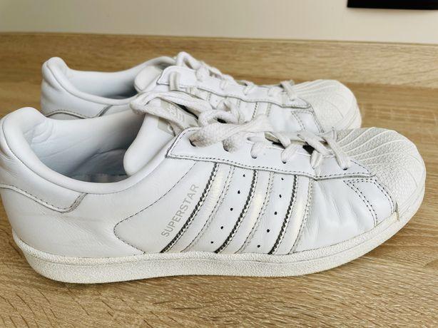 Adidas Superstar biale 38 2/3