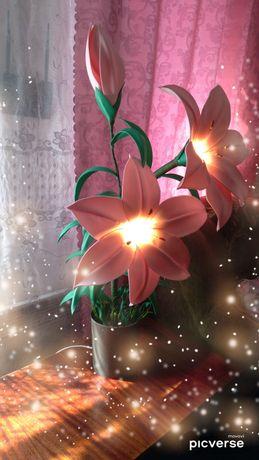 Світильник лілія
