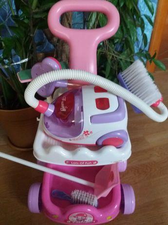 Детский набор для уборки пылесос