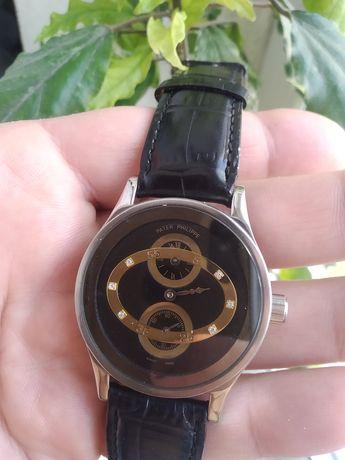 РЕГУЛЯТОР!!! Часы Patek Philippe наручные в нержавейке