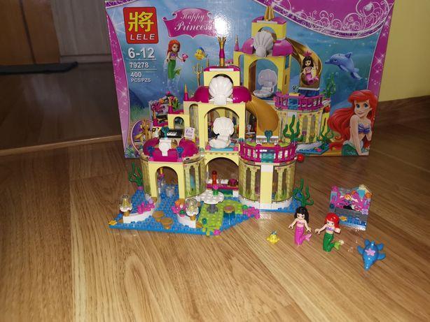 Lego pałac zamek Ariel klocki lele
