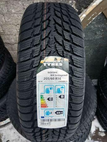 Зимние шины 205/60 R16 Nokian WR Snowproof - 2020,РАССРОЧКА 0, НП -30%
