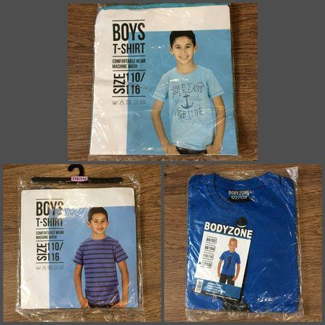 Новые футболки на мальчика рост 110-116 см