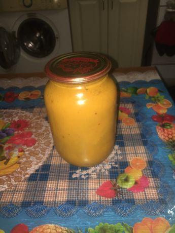 Сок абрикосовый с мякотью. 1 литр