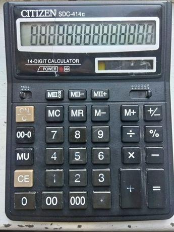 Калькулятор Citizen SDС-414 II та Калькулятор Citizen SDС-414