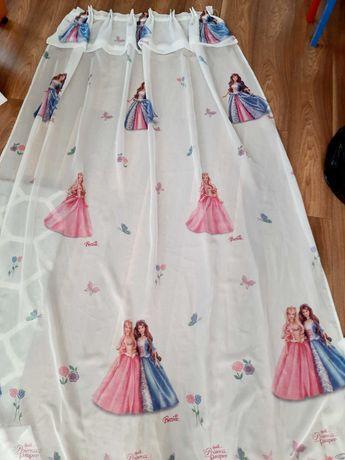 Zasłony Disney Barbie księżniczki 223cm *150 cm