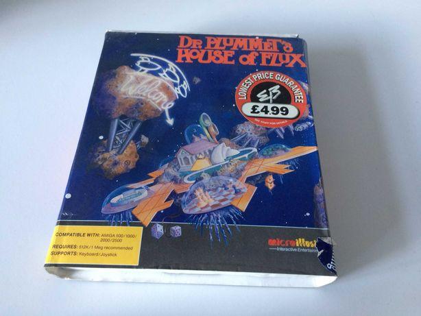 Dr. Plummet's House of Flux Amiga BOX