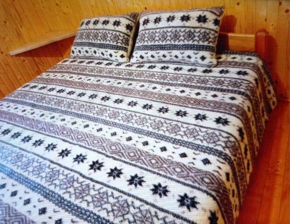 вовняна ковдра (шерстяное одеяло) одеяло с овчиньі