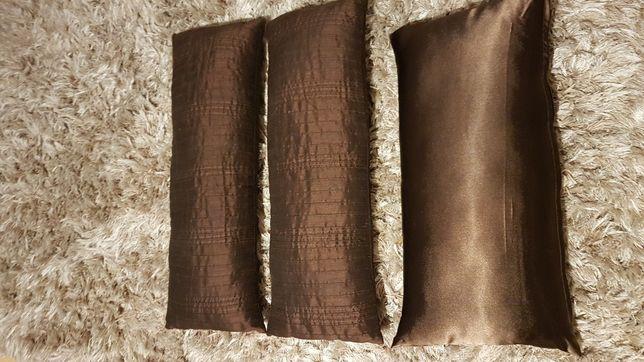Poduszki ozdobne brązowe czekoladowe ikea