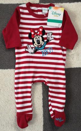 NOWY pajac 60 cm 56/62 Disney Minnie pajacyk