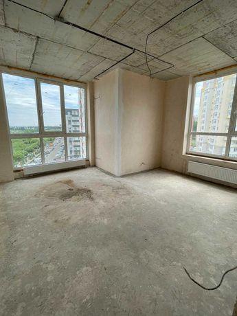Видова квартира з незавершеним ремонтом