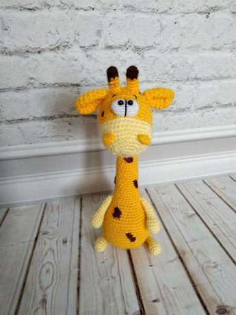 Жираф игрушка ручная работа